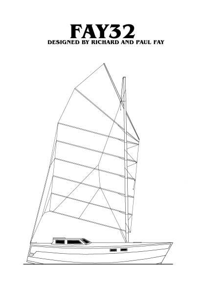 Fay 32B Junk Rig Version